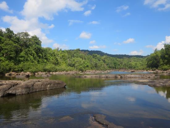 Кох-Конг, Камбоджа: Pools at the top of Tatai