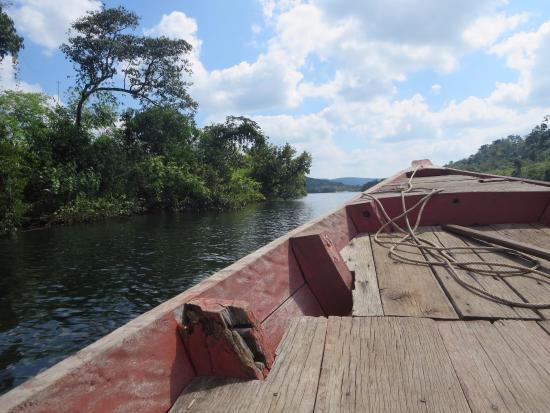 Кох-Конг, Камбоджа: On the way to Tatai waterfall