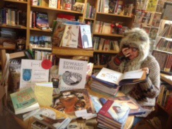Crickhowell, UK: Signing books on Thursday 4th Feb. Book-ish is always well stocked with my books and jigsaws.