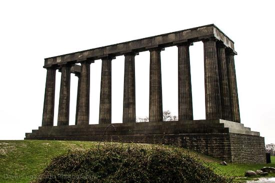 Edinburgh Photography Tours Limited - Private Tours : Scottish Monument at the top of Calton Hill