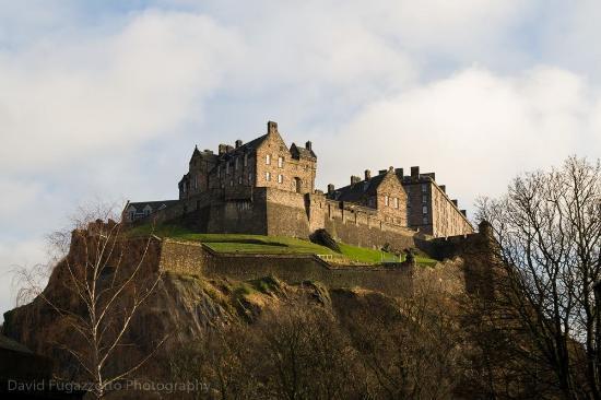 Edinburgh Photography Tours Limited - Private Tours : Edinburgh Castle fromSt. Cuthbert's
