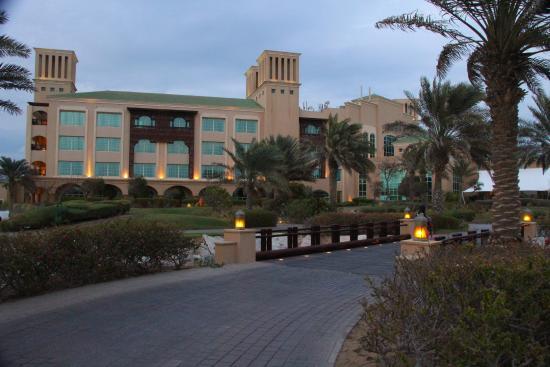 Sir Bani Yas Island, Emirati Arabi Uniti: Hotel building