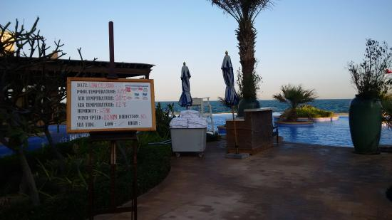 Sir Bani Yas Island, De Forenede Arabiske Emirater: Swimming pool