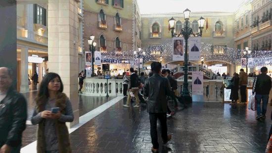 The Venetian Macao Resort Hotel: ホテル内。
