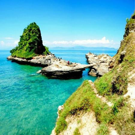 Desa Sekotong Barat, Indonesia: Tanjung Beloam, 5 minutes drive from/to Pink Beach