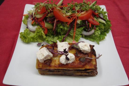Pohara, نيوزيلندا: Vegetarian Lasagne