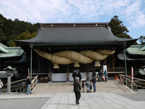 Fukutsu, Japon : 神社本殿