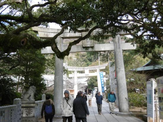 Fukutsu, Japon : 境内風景