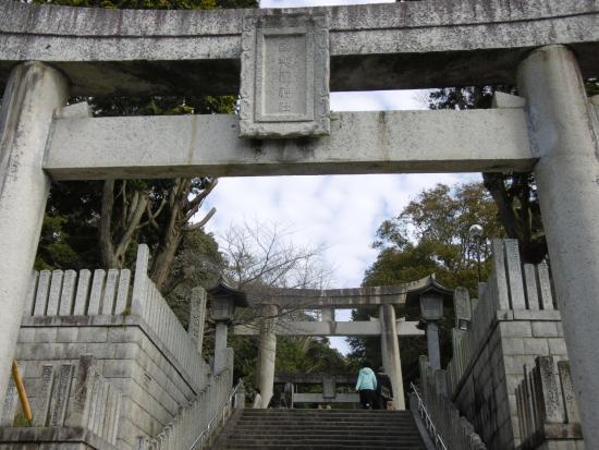 Fukutsu, Japon : 神社階段
