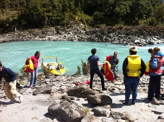 Haast, Nuova Zelanda: Up the top of the river