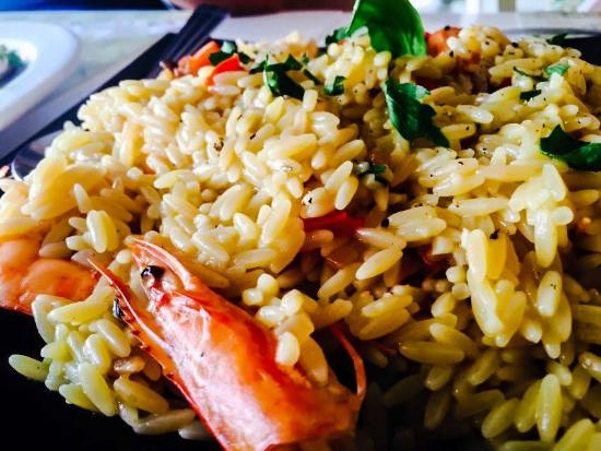 Stavros Fish Restaurant: το απίστευτο κριθαρότο με γαρίδες!!!