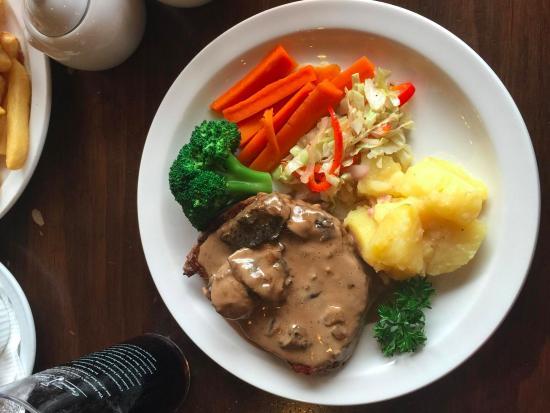 Timaru, Новая Зеландия: Ribeye steak