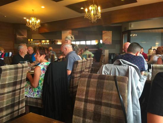 Timaru, نيوزيلندا: Inside restaurant