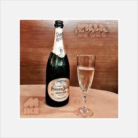 Camariñas, España: Perrier Jouët, Champagne de los más exquisitos y afrutados, auténtico salpicón de bogavante, gam