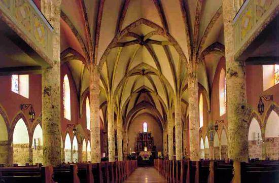 Saviese, Suíça: Savièse - Eglise St Germain - vue intérieure