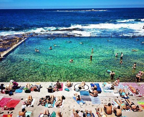 Coogee, Australie : fun in the sun