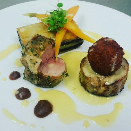 St. Asaph, UK: Pork trio special