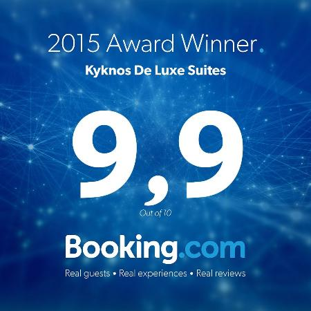 Kyknos De Luxe Suites Hotel: Booking.com Reviews 9,9