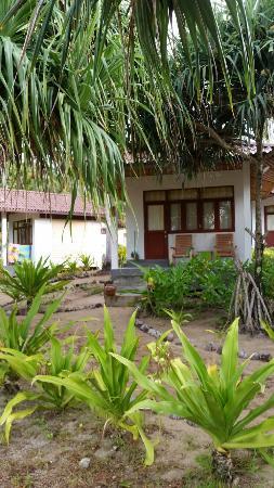 Kantang, Tayland: Bungalow med havsutsikt
