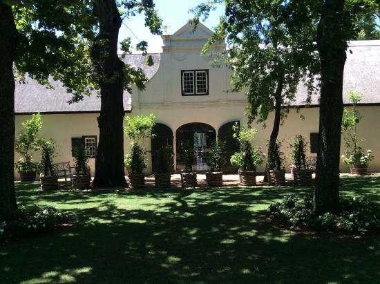 Franschhoek, Sør-Afrika: Hotel