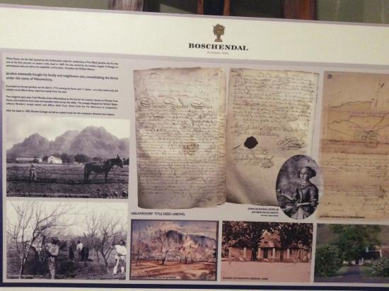 Franschhoek, Sør-Afrika: Geschichtliches
