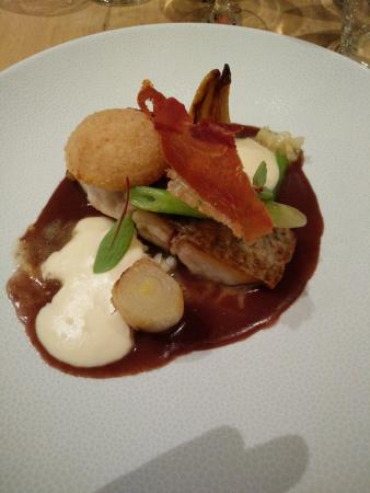 Wepion, Bélgica: Filet de maigre rôti