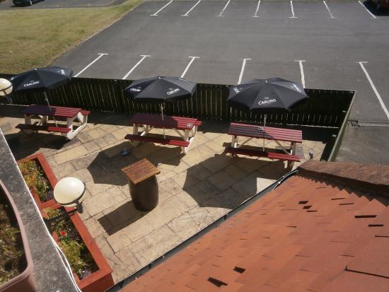 Washington, UK: Outside Drinking area