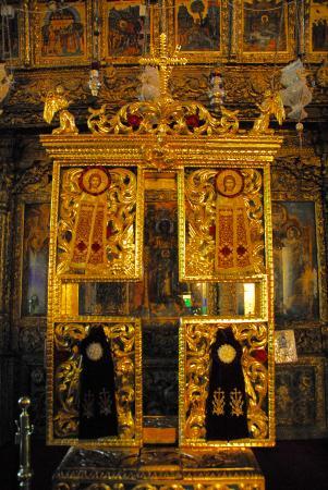 Pano Lefkara, Chipre: L'iconostasi