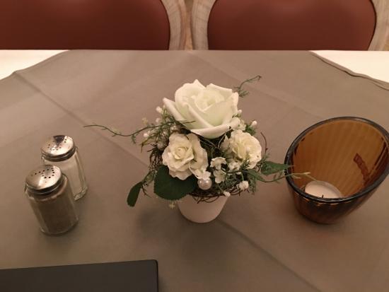 Tischdeko Beim Abendessen Bild Von Parkhotel Helmstedt Helmstedt
