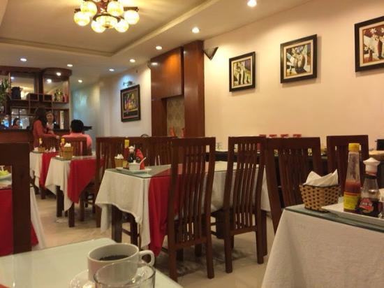 Hanoi Holiday Diamond Hotel: reataurant