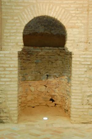 Almonaster La Real, Spanje: el mihrab