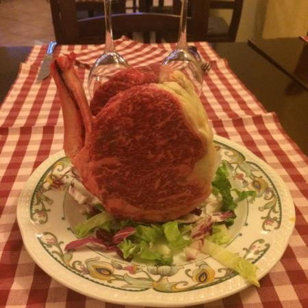 Rescaldina, Italien: Ribay all'inglese (carne speciale frollata DOC)