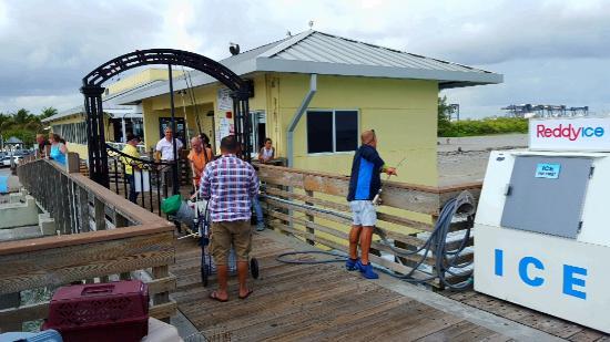 Entrance Gate Picture Of Dania Beach Fishing Pier Dania Beach