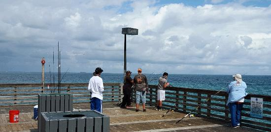 Dania Beach Fishing Pier Fishermen