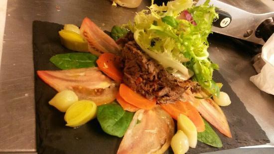 Grignan, Frankrijk: Voilà une petite partie des plats truffés