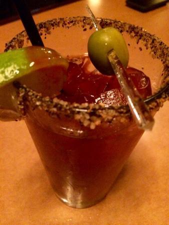 Nelson, كندا: Caesars Drink (Kanadensisk variant på Bloody Mary)