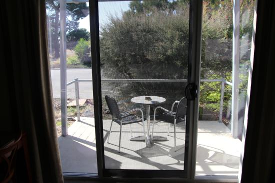 Strath Motel: Balcony