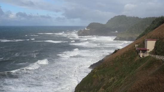Florence, Oregon: entrée de la grotte