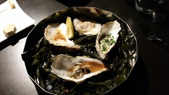 Bruinisse, Nederland: Oesterbox: oesters in 4 bereidingen