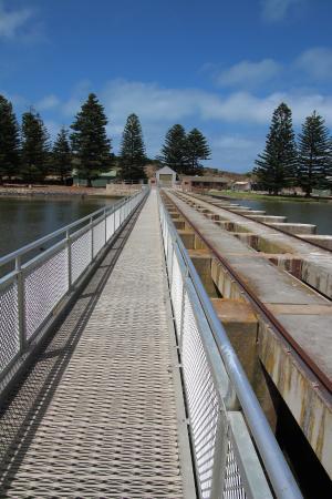 Goolwa, Αυστραλία: Barrage