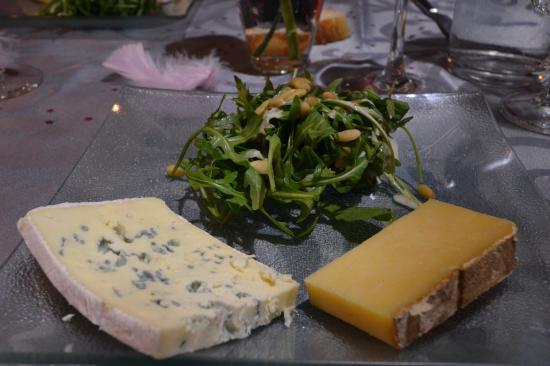 Aurillac, Francia: Assiette de fromage
