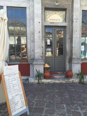 Αγιασσός, Ελλάδα: Kafentapia