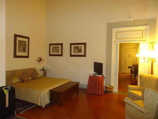 Palazzo Magnani Feroni: chambre à coucher de la suite Angelica
