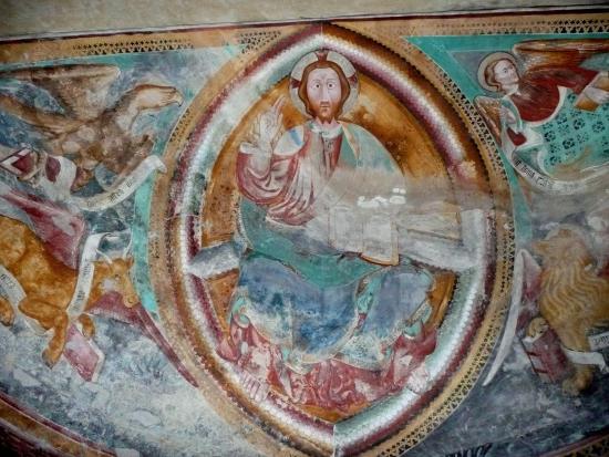 Giornico, Suisse: Fresken