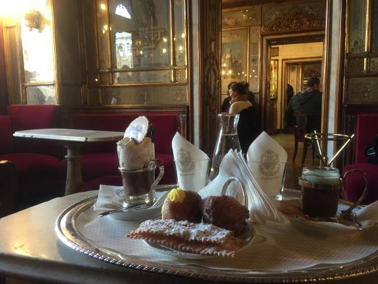 Dolci tipici di carnevale picture of cafe florian for Dolci romani tipici