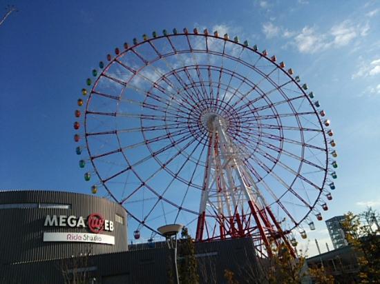 Pallete Town Ferris Wheel : 観覧車外観