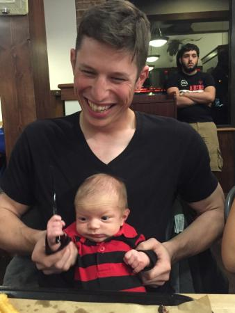 Winter Garden, FL: Grandson's First BBQ