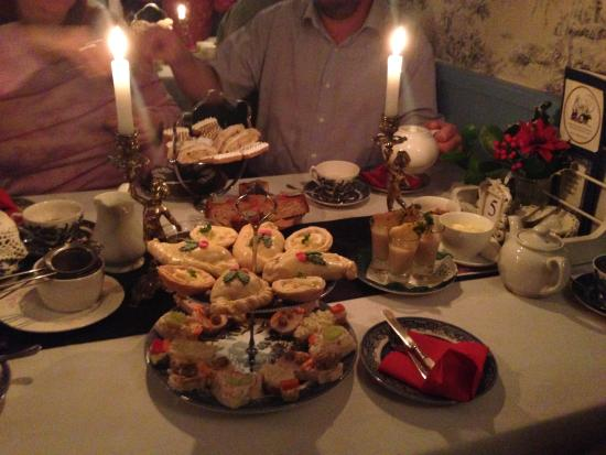 Drybrook, UK: Our table