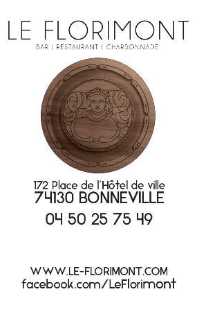 le florimont bonneville restaurant avis num ro de t l phone photos tripadvisor. Black Bedroom Furniture Sets. Home Design Ideas