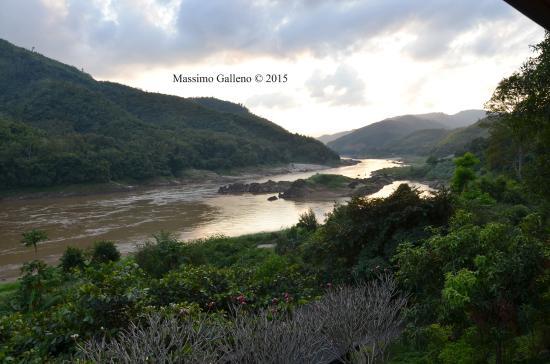 Pakbeng, Laos: Bella vista!